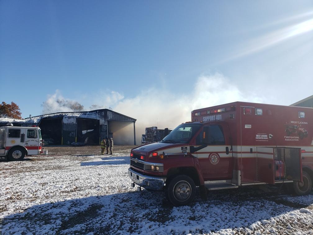 Hanover Barn Fire